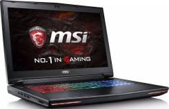 """MSI. 17.3"""", 3,0ГГц, ОЗУ 8192 МБ и больше, диск 1 128 Гб, WiFi, Bluetooth, аккумулятор на 3 ч."""