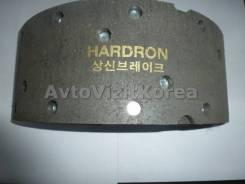 Колодка тормозная задняя Hyundai County 04-, HD3,5t, (барабан 320*110) (Hi-Q) SB505
