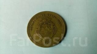 Коста Рика 100 колонов 2000 года. Возможен обмен на монеты значки и др