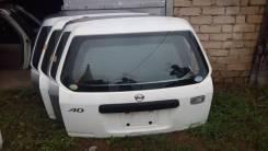 Дверь багажника. Nissan AD, VHNY11, VY11, VEY11, VHB11, VFY11, VGY11, VB11, VENY11, VSB11 Nissan AD Van, VENY11, VEY11, VFY11, VGY11, VHNY11, VY11 Nis...