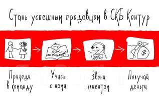 """Менеджер по продажам. АО ПФ """"СКБ Контур"""". Переулок Краснознаменный 5в"""