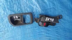 Ручка двери внутренняя. Toyota Vista, CV40, CV43, SV40, SV41, SV42, SV43 Toyota Camry, CV40, CV43, SV40, SV41, SV42, SV43 Двигатели: 3CT, 3SFE, 4SFE