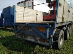 Pacton. Полуприцеп с манипулятором Хива в Новосибирске, 38 000 кг.