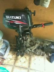 Suzuki. 5,00л.с., 4-тактный, бензиновый, нога S (381 мм), Год: 2011 год