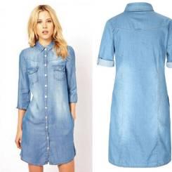 Платья-рубашки. 46, 48