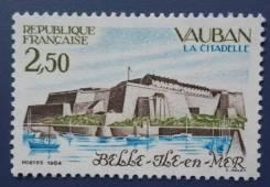 1984 Франция. Цитадель Вобан на острове Бель-Иль.1 марка. Чистая