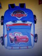 Школьный рюкзак (1-3 класс) для мальчика (машинка)