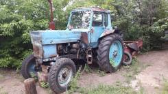 МТЗ 80. Трактор мтз-80 и картофелекопатель ктн-2В, 4 750 куб. см.