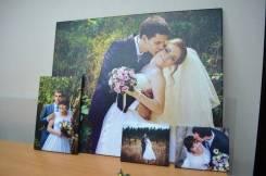 Печать ваших фото на холсте. Холст с фото. 40х60-1200р и другие.