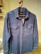 Рубашки джинсовые. 50, 52