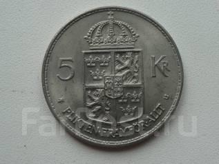 Швеция 5 крон 1972 года.