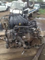 Двигатель в сборе. Nissan Wingroad Двигатель MR18DE