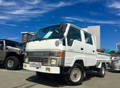 Toyota Hiace. Двухкабинный, 4WD, не конструктор, 1 хозяин, 2 400 куб. см., 1 500 кг.