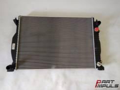 Радиатор охлаждения двигателя. Audi S4