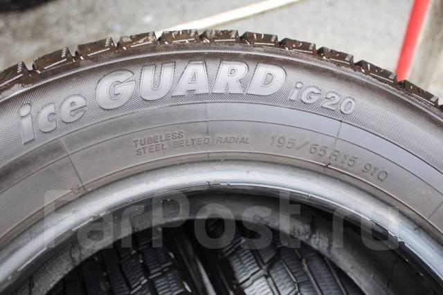 Yokohama Ice Guard IG20. Зимние, без шипов, износ: 5%, 4 шт