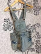 Комбинезоны джинсовые. 38, 40, 42