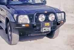 Силовые бампера. Toyota Hilux Surf Toyota Land Cruiser Prado, KZJ78W, KZ71W, KZJ71W, KZJ78G, KZ71G Mitsubishi Pajero Двигатель 1KZTE