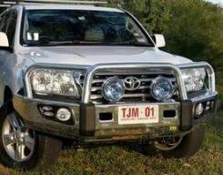 Силовые бампера. Toyota Land Cruiser, GRJ200, J200, URJ200, UZJ200, UZJ200W, VDJ200
