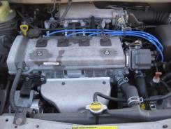 Двигатель в сборе. Toyota Corolla Spacio, AE115N