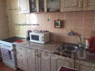 1-комнатная, улица Каплунова 15. 64, 71 микрорайоны, агентство, 36 кв.м. Кухня