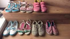Отдам бесплатно детскую обувь для девочки р.31-35