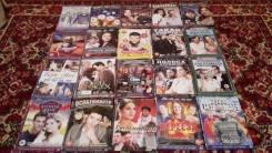 Отдам диски с русскими сериалами и фильмами (55шт. )