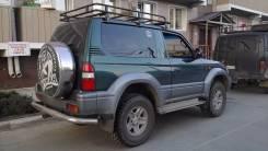 Колпак запасного колеса. Toyota Land Cruiser Prado, RZJ90W, RZJ90