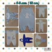 Одежда для новорожденных. Рост: 50-60, 60-68, 68-74, 74-80 см