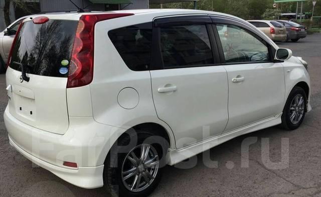 Обвес кузова аэродинамический. Nissan Note. Под заказ