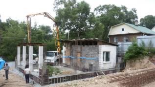 Монолитное Строительство Домов, фундамент, опорная стена, пристройка.