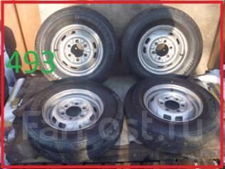 Японские летние колеса 185/80R14LT большой остаток протектора. 5.0x14 6x139.70 ЦО 100,0мм.