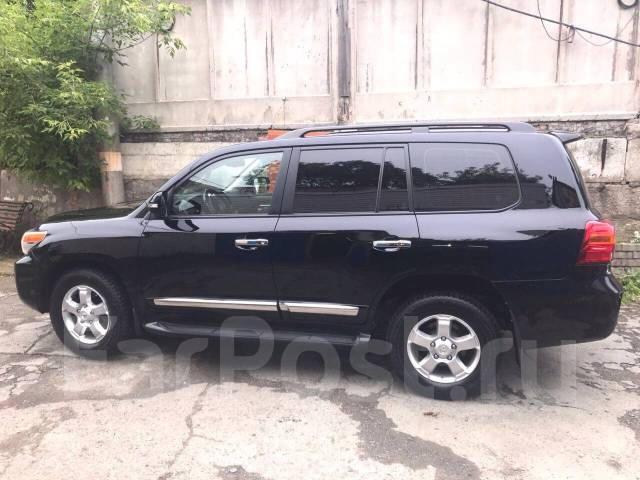 Toyota Land Cruiser. автомат, 4wd, 4.5 (235 л.с.), дизель, 37 312 тыс. км