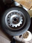 Штампованные диски 4*100, в сборе с резиной kumho. x14 4x100.00