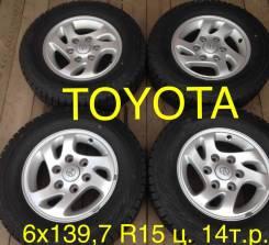 Toyota. 6.0x15, 6x139.70, ET29