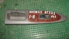 Кнопка стеклоподъемника Toyota Avensis, левая передняя