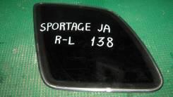 Стекло Kia Sportage, левое заднее
