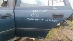 Дверь Nissan Sunny, левая задняя