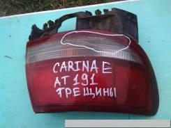 Фонарь Toyota Carina E, левый