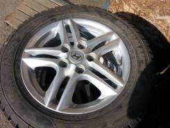 Hyundai. 5.5x15, 5x114.30, ET45, ЦО 66,1мм.