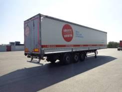 Kassbohrer. Шторно-бортовой полуприцеп 2012 г. , оси SAF, 39 000 кг.