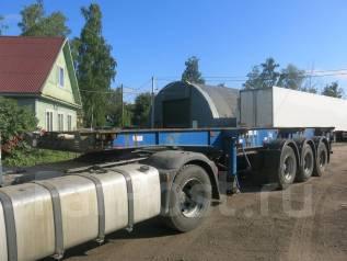 Montracon. Полуприцеп контейнеровоз высокий, 2004, 35 300 кг.