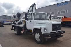 ГАЗ 3309. Автогидроподъемник СПМ-1812 Oil&Steel ГАЗ-3309, 4 600 куб. см., 18 м.