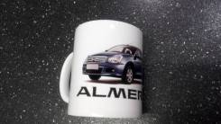 Кружка Nissan almera g15 отправка по стране