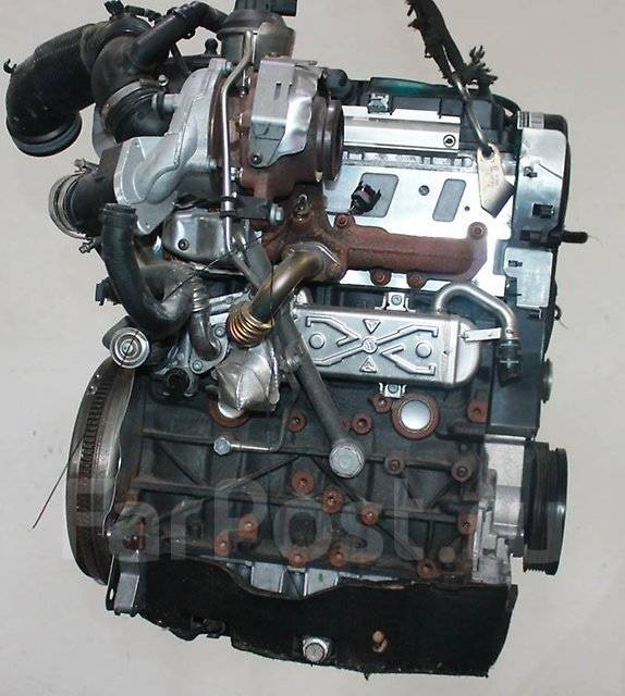 Двигатель CFFE на SEAT