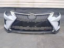 Бампер передний для Toyota Camry v50 v55 (Камри) 2014г+. Стиль Lexus