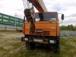 Клинцы КС-55713-5К. Кран КС-55713-5К на шасси Камаз 43118-18. Год 2007 В Нижнем Новгороде, 12 500 куб. см., 25 000 кг., 21 м.