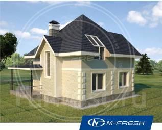 M-fresh Simple (Покупайте сейчас проект со скидкой 20%! ). 100-200 кв. м., 1 этаж, 4 комнаты, комбинированный