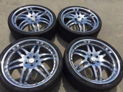"""265/30 R22 Pirelli P Zero Nero хром 5х114.3 (L15-2201). 8.5x22"""" 5x114.30 ET32"""