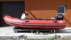 Zodiac. Год: 2012 год, длина 4,50м., двигатель подвесной, 60,00л.с., бензин