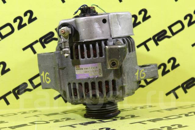Генератор. Toyota: Chaser, Mark II Wagon Blit, Verossa, Cresta, Crown Majesta, Crown, Mark II Двигатель 1GFE